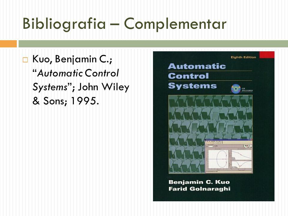 Bibliografia – Complementar