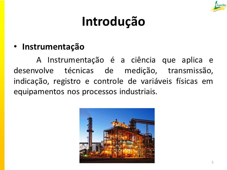 Introdução Instrumentação
