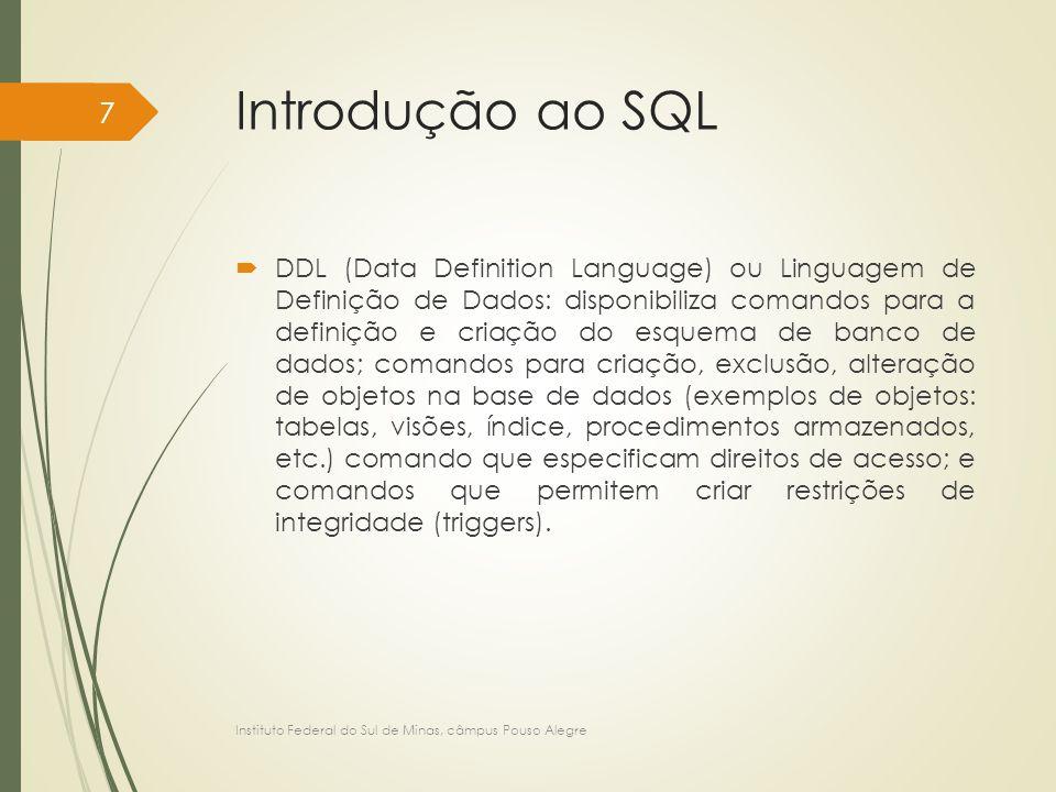 Introdução ao SQL