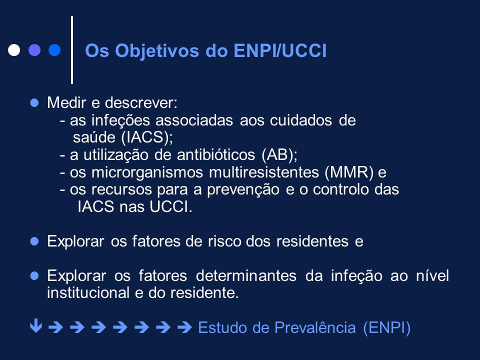 Os Objetivos do ENPI/UCCI