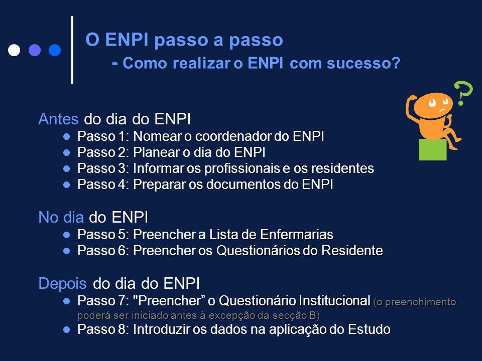 O ENPI passo a passo - Como realizar o ENPI com sucesso