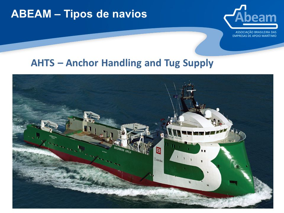 ABEAM – Tipos de navios AHTS – Anchor Handling and Tug Supply