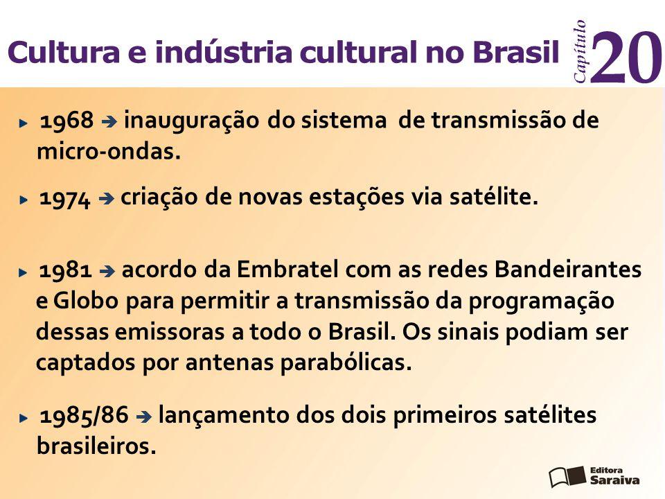 20 Cultura e indústria cultural no Brasil Capítulo