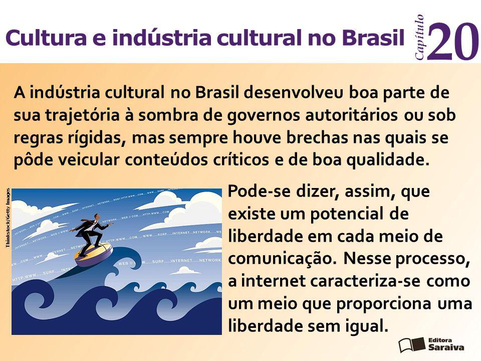 20 Cultura e indústria cultural no Brasil