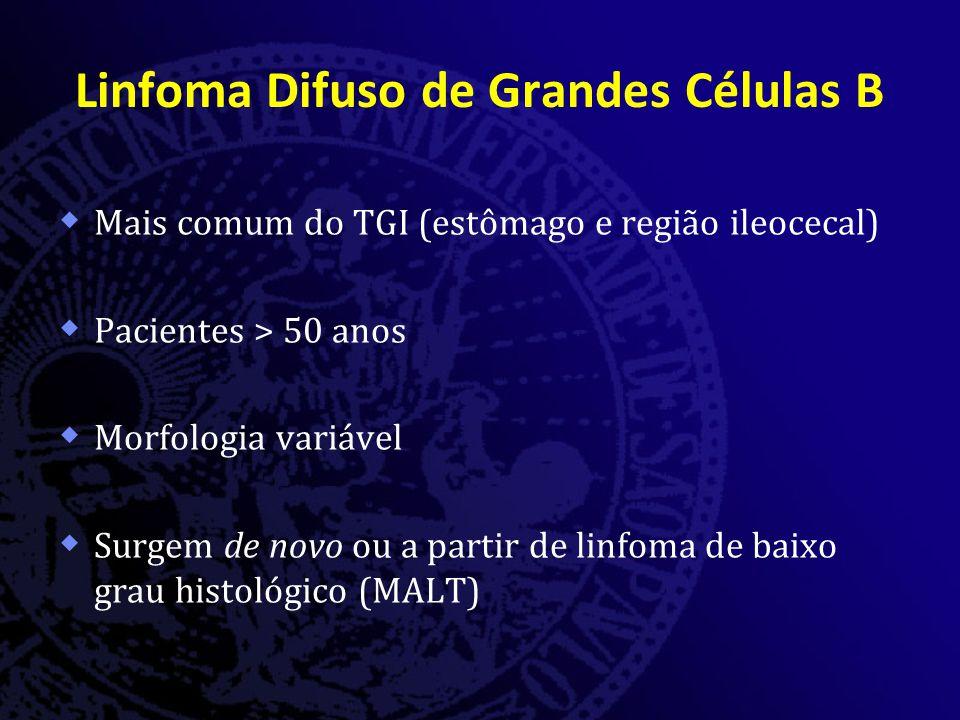 Linfoma Difuso de Grandes Células B