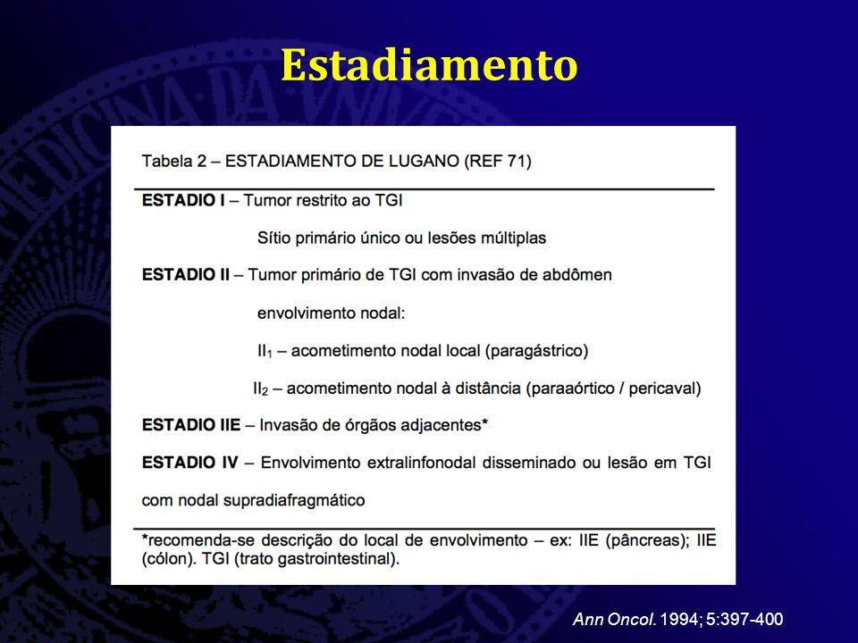 Estadiamento Ann Oncol. 1994; 5:397-400
