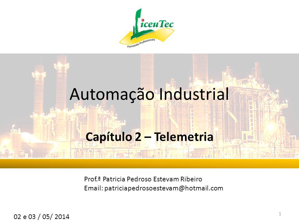 Automação Industrial Capítulo 2 – Telemetria