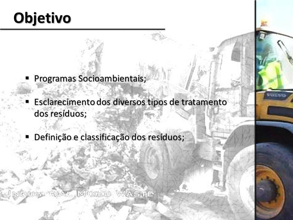 Objetivo Programas Socioambientais;