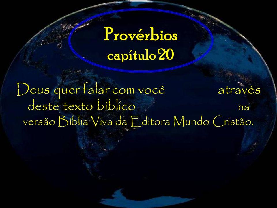 Provérbios capítulo 20