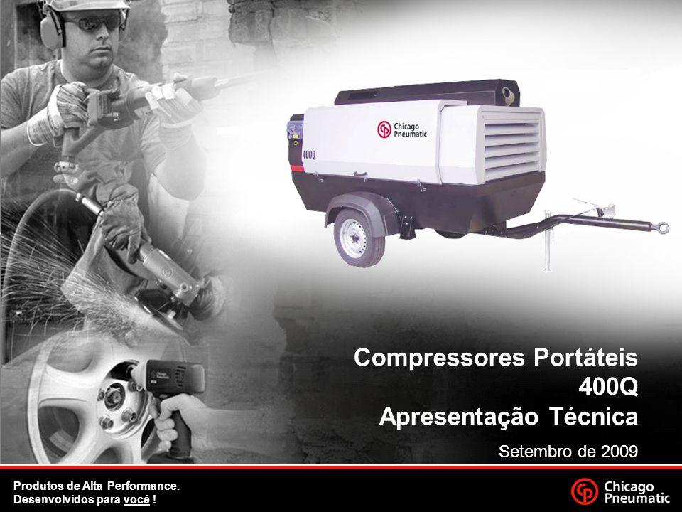 Compressores Portáteis 400Q Apresentação Técnica