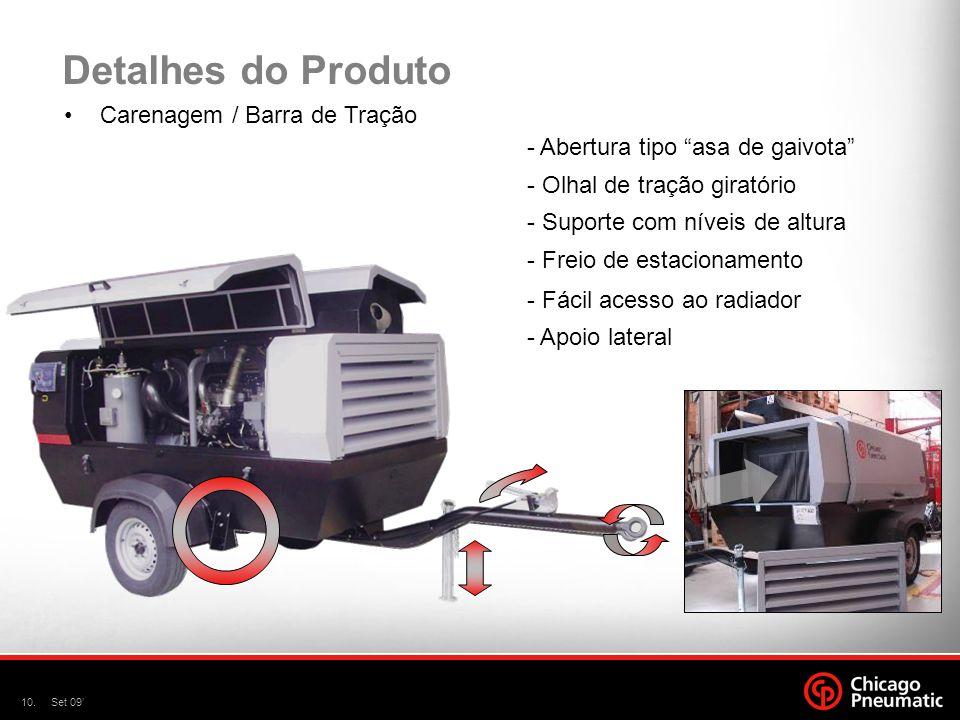 Detalhes do Produto Carenagem / Barra de Tração