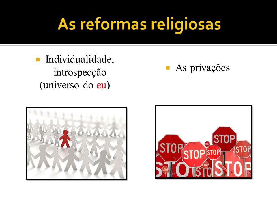As reformas religiosas