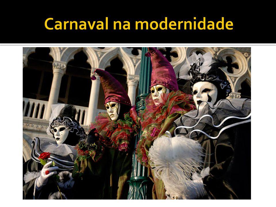 Carnaval na modernidade