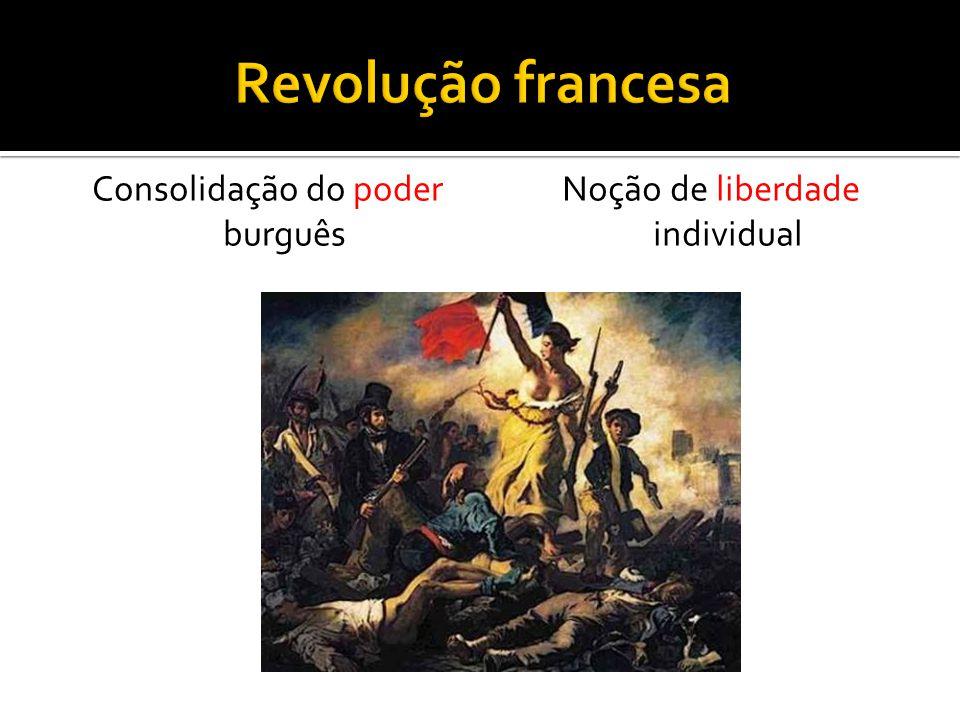 Revolução francesa Consolidação do poder burguês