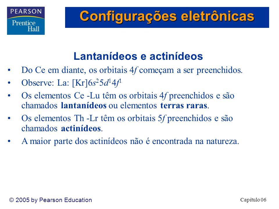 Configurações eletrônicas