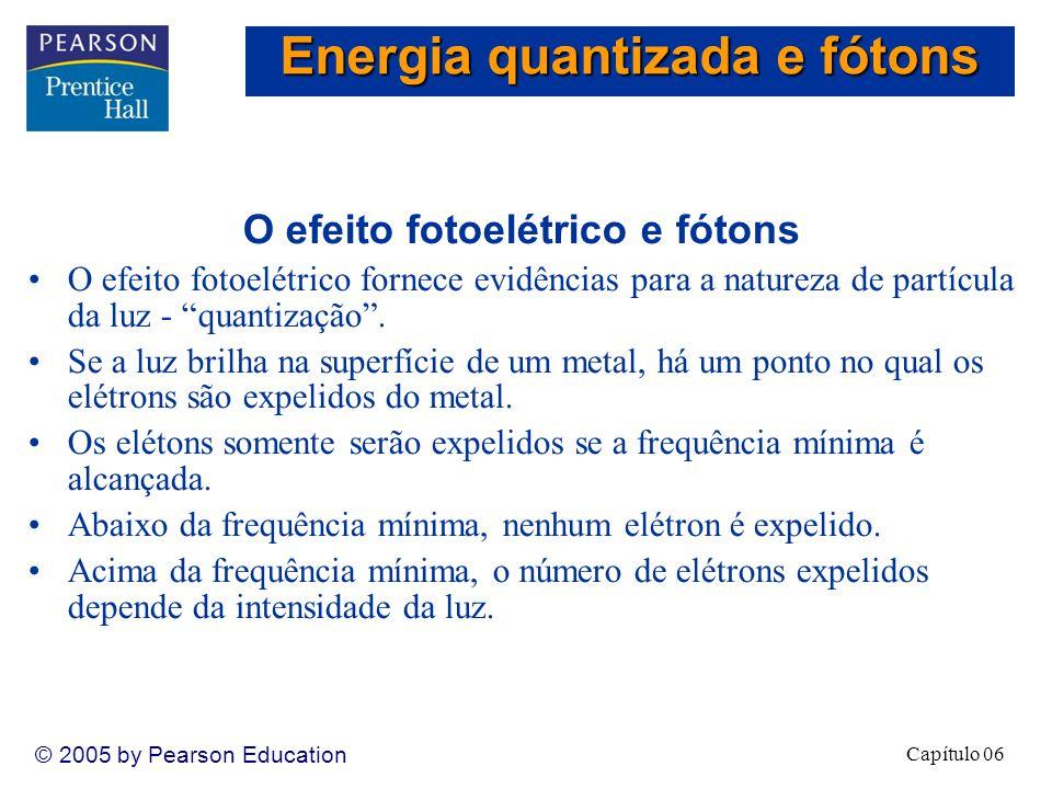 Energia quantizada e fótons