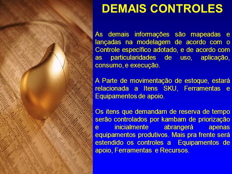 DEMAIS CONTROLES