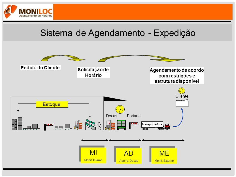 Sistema de Agendamento - Expedição