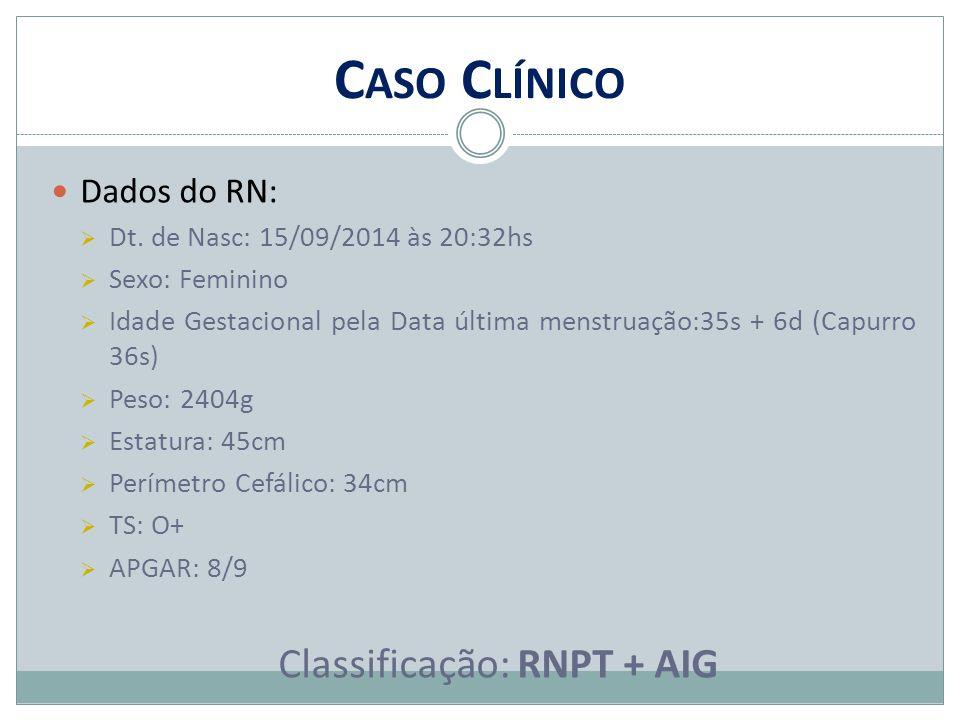 Classificação: RNPT + AIG