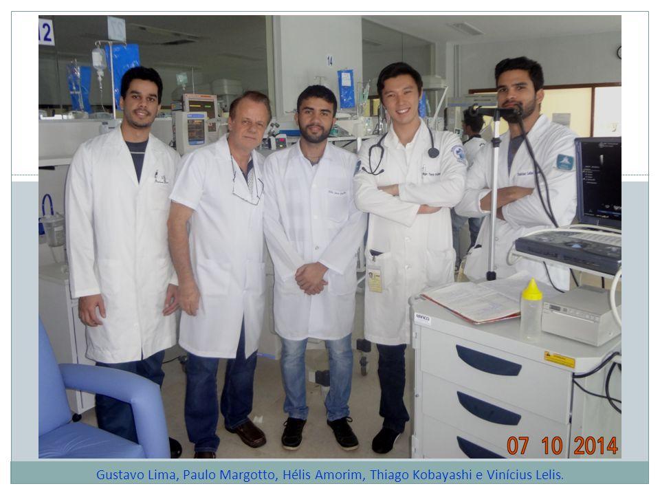 Gustavo Lima, Paulo Margotto, Hélis Amorim, Thiago Kobayashi e Vinícius Lelis.