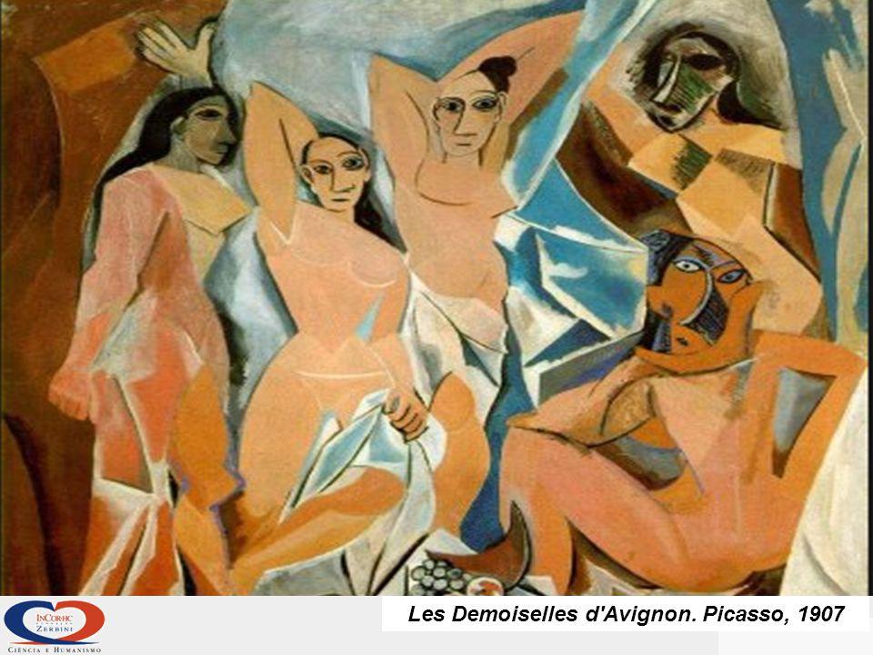 Les Demoiselles d Avignon. Picasso, 1907