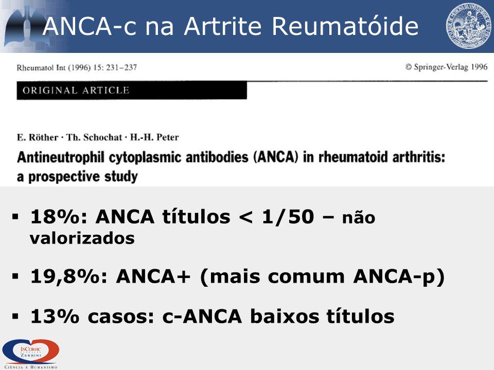 ANCA-c na Artrite Reumatóide