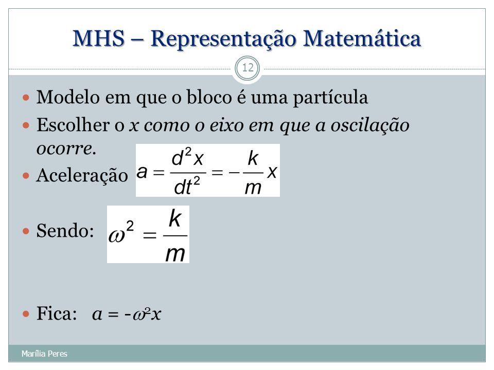 MHS – Representação Matemática