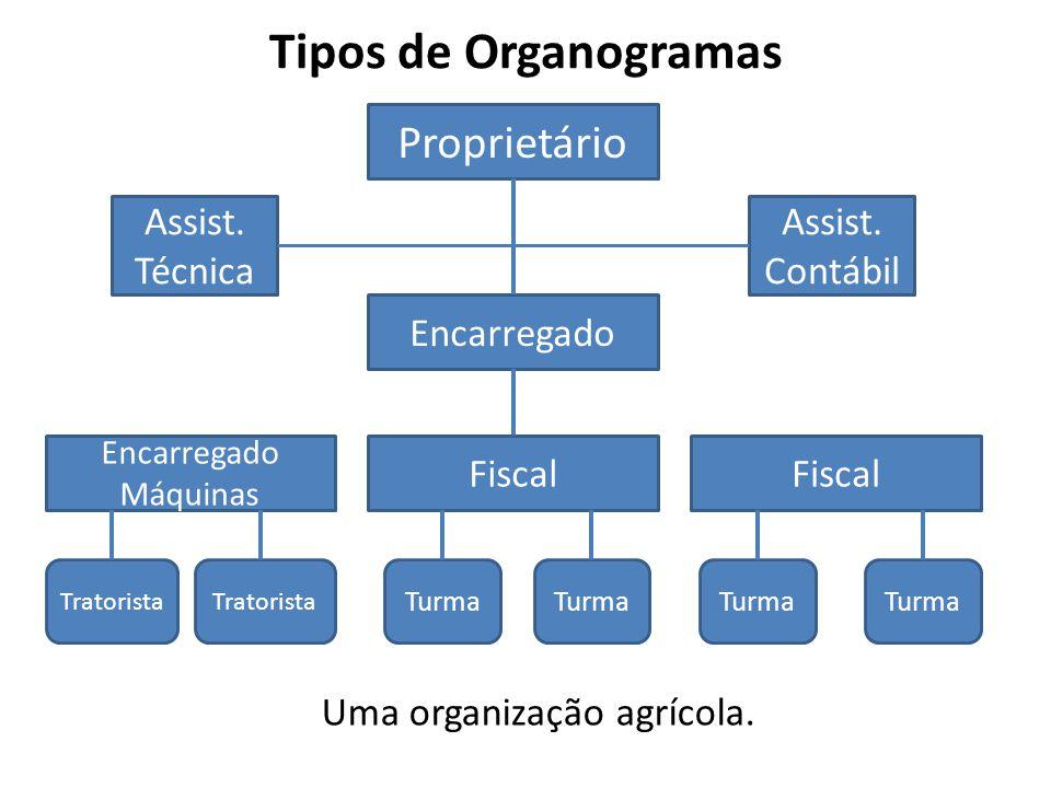 Uma organização agrícola.