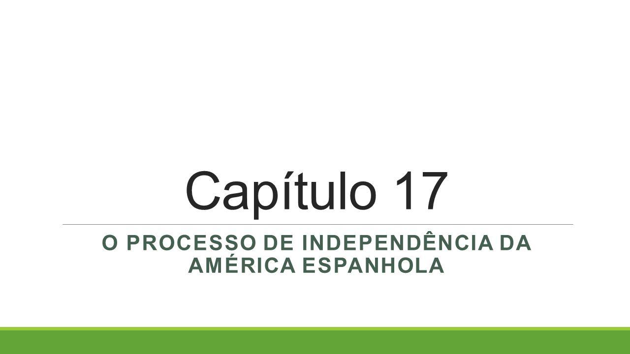 O processo de independência da américa espanhola