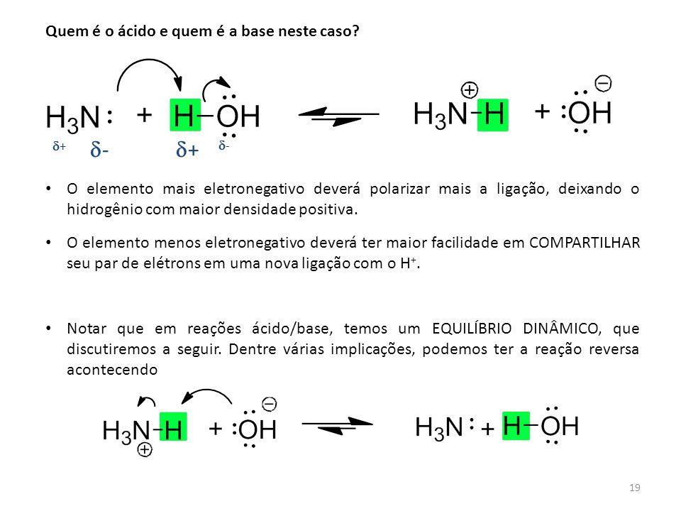 d- d+ Quem é o ácido e quem é a base neste caso