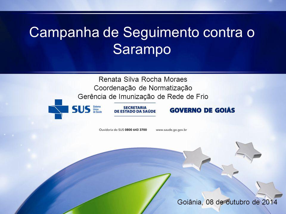 Campanha de Seguimento contra o Sarampo
