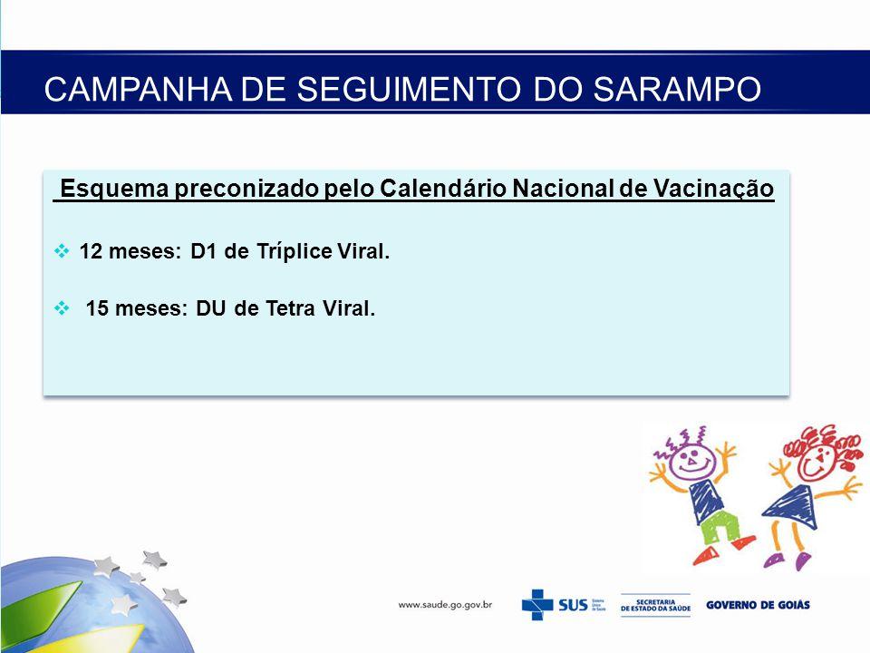 CAMPANHA DE SEGUIMENTO DO SARAMPO