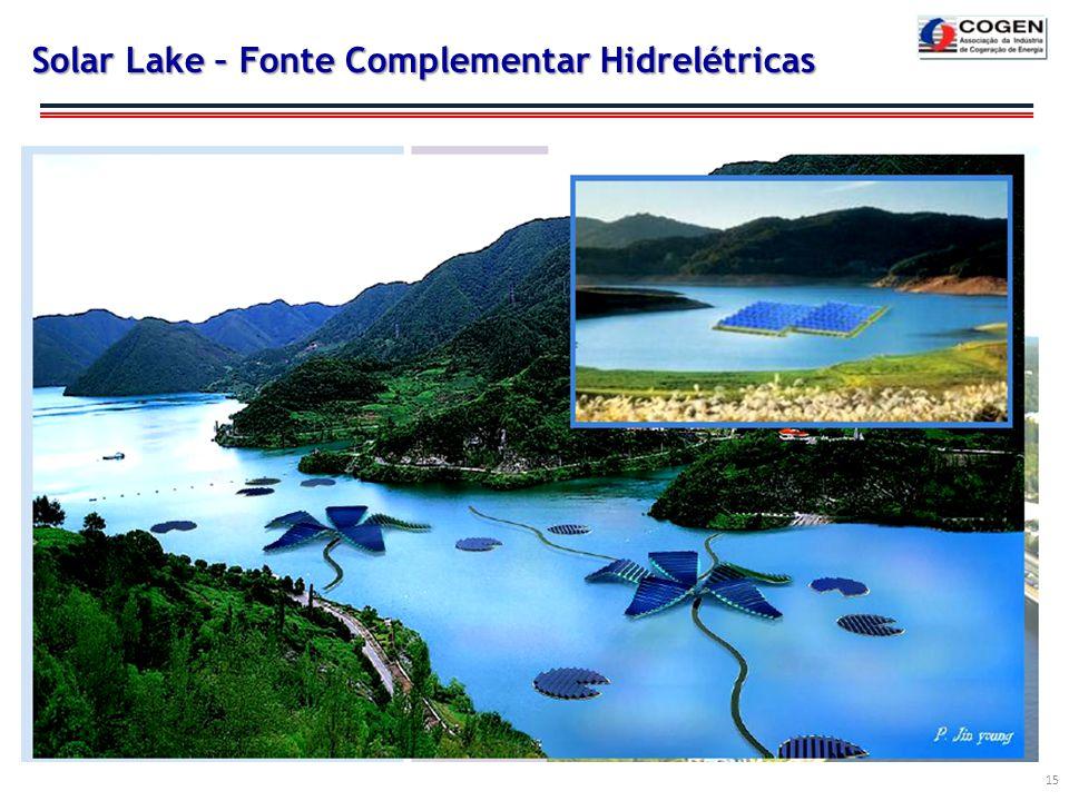 Solar Lake – Fonte Complementar Hidrelétricas