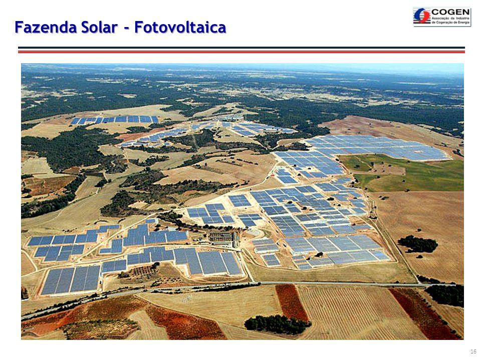 Fazenda Solar - Fotovoltaica