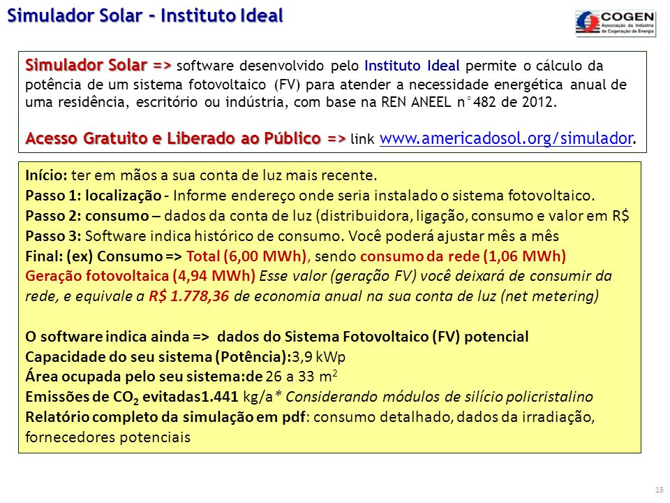 Simulador Solar – Instituto Ideal