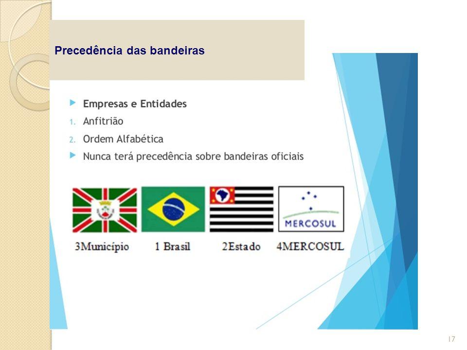 Precedência das bandeiras