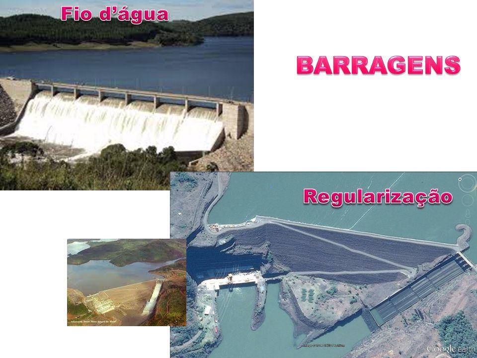 Fio d'água BARRAGENS Regularização