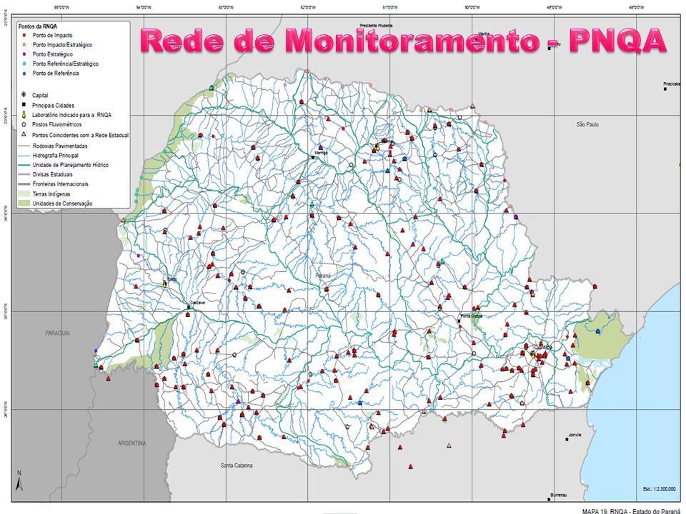 Rede de Monitoramento - PNQA
