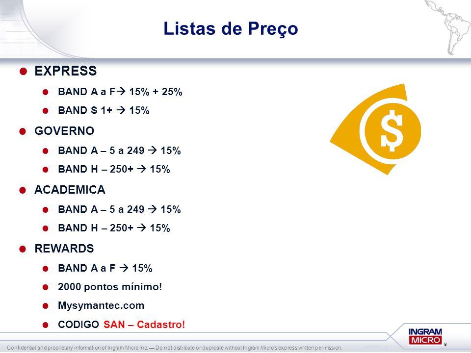 Listas de Preço EXPRESS GOVERNO ACADEMICA REWARDS
