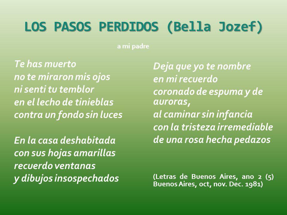 LOS PASOS PERDIDOS (Bella Jozef)