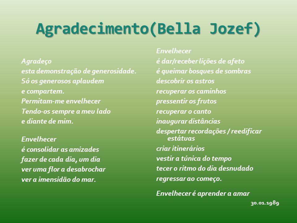 Agradecimento(Bella Jozef)