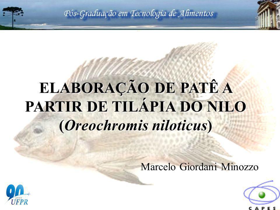 ELABORAÇÃO DE PATÊ A PARTIR DE TILÁPIA DO NILO (Oreochromis niloticus)