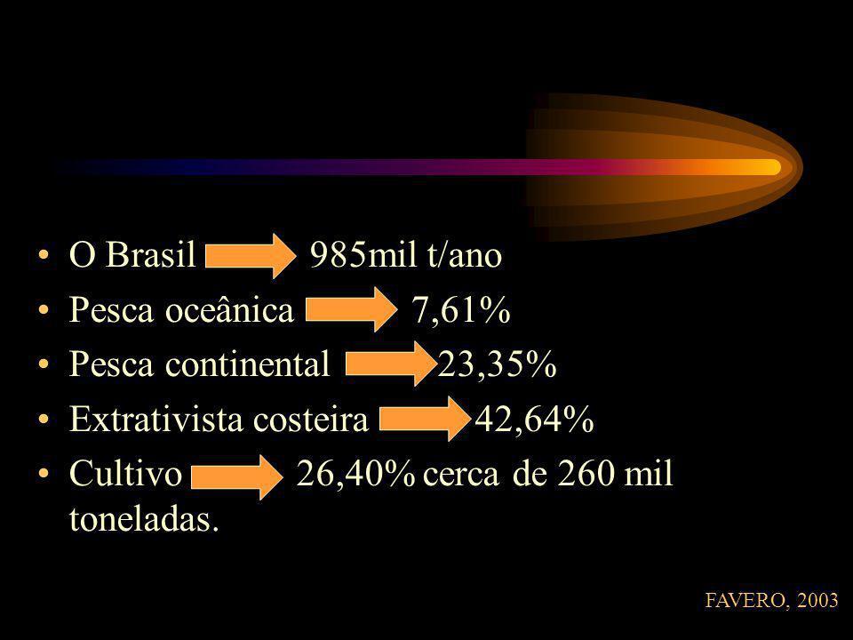 Extrativista costeira 42,64%