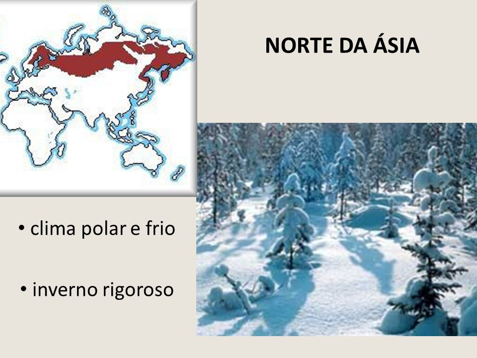 clima polar e frio inverno rigoroso