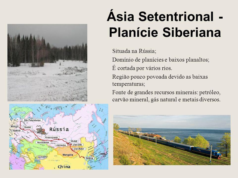 Ásia Setentrional - Planície Siberiana