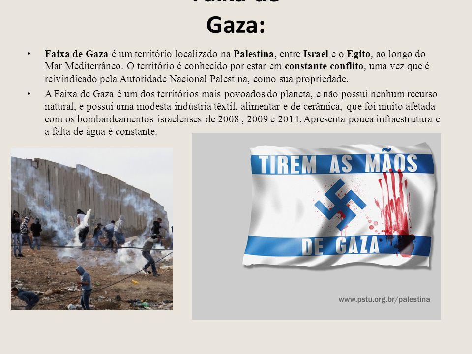 Faixa de Gaza: