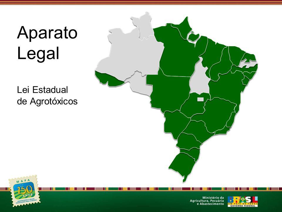 Aparato Legal Lei Estadual de Agrotóxicos