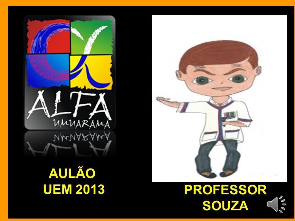 AULÃO UEM 2013 PROFESSOR SOUZA