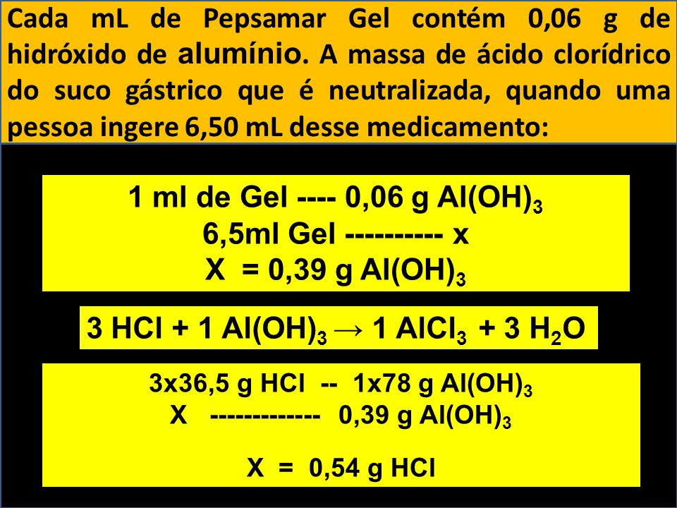 X ------------- 0,39 g Al(OH)3