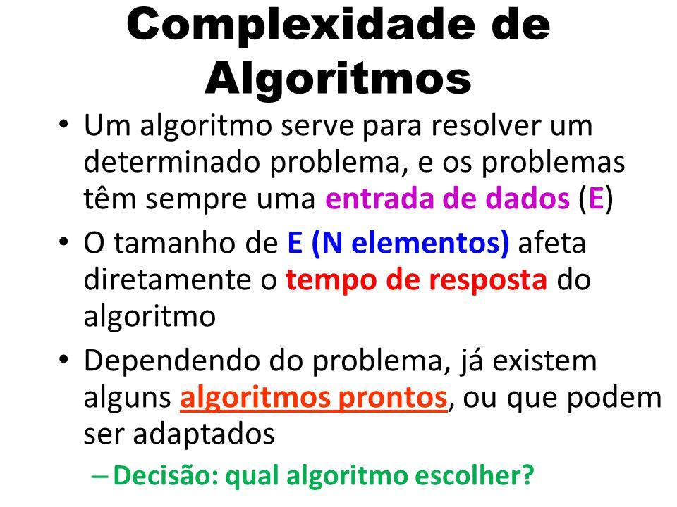 Complexidade de Algoritmos